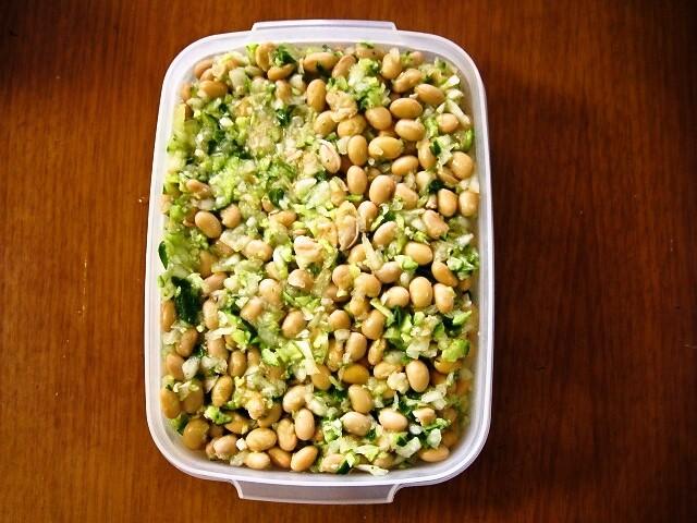 基本の豆マリネ 大豆と野菜のシンプルマリネ