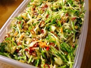 野菜たっぷりヤムウンセン