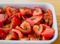 【野菜ひとつ】トマトの和風ノンオイルサラダ