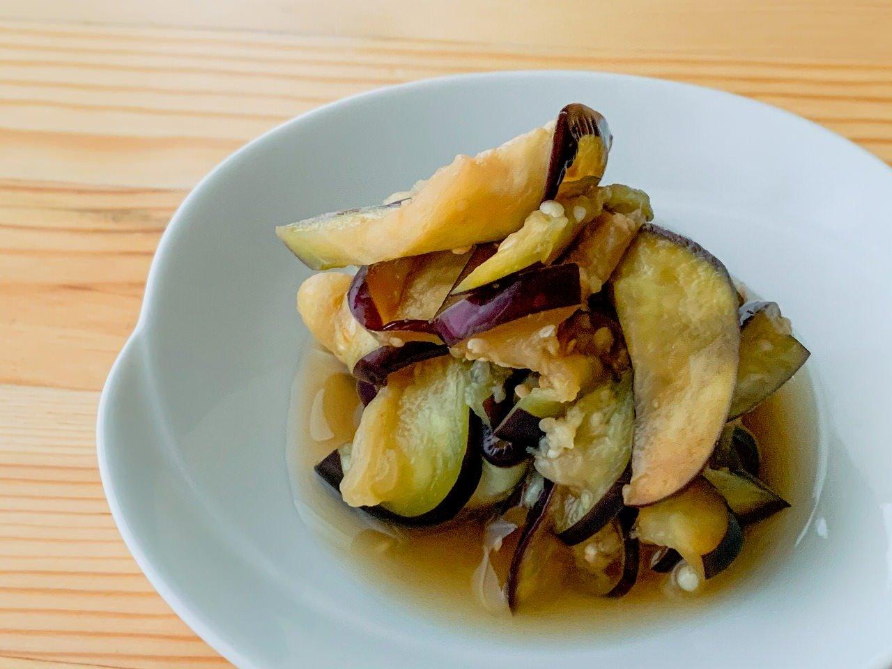 【野菜ひとつ】なすの酢の物