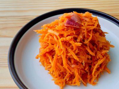 【野菜ひとつ】にんじんの梅和え