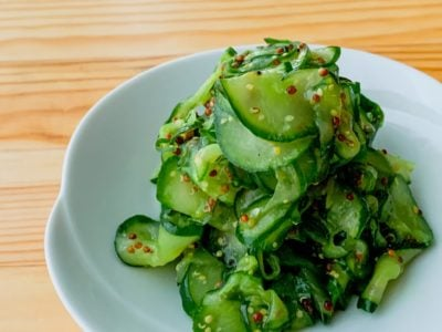 【野菜ひとつ】きゅうりの粒マスタード和え