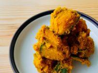 【野菜ひとつ】かぼちゃのバターしょうゆサラダ