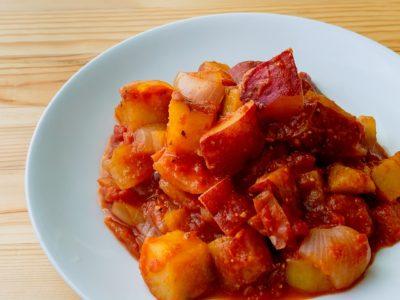 さつまいものトマト煮
