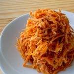 【野菜ひとつ】にんじんのごまマヨサラダ