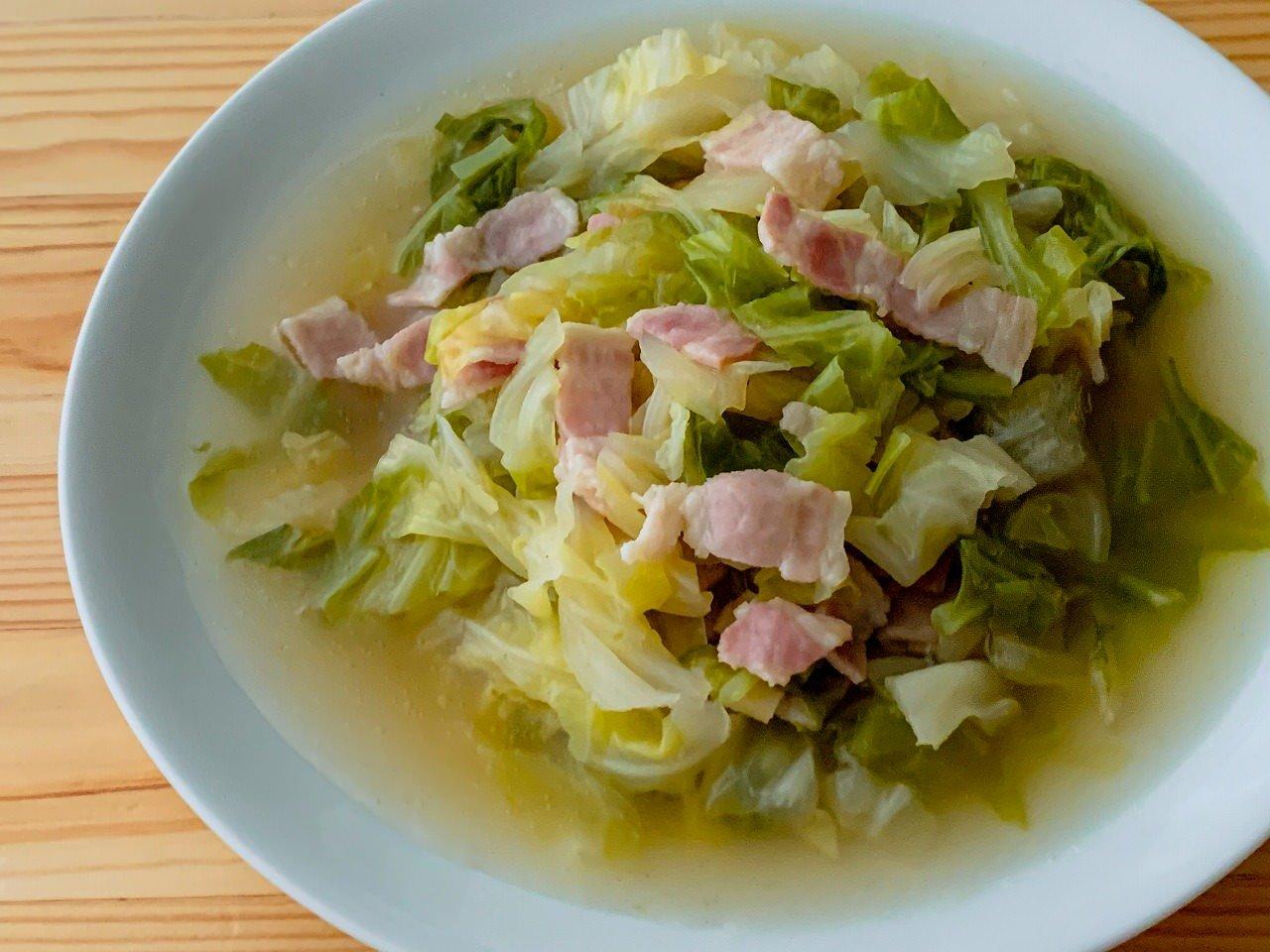 スープ キャベツ ひき肉
