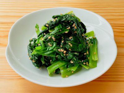【野菜ひとつ】小松菜のナムル