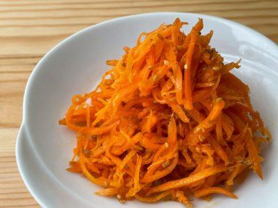 【野菜ひとつ】にんじんのナムル
