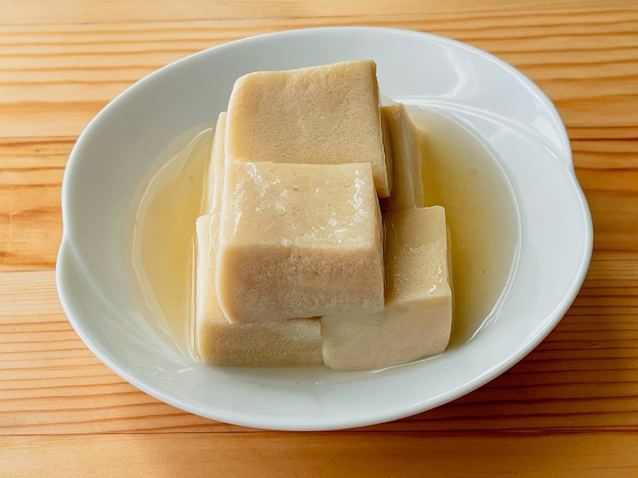 高野豆腐のくず煮