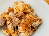鶏もも肉のマスタードマヨ焼き