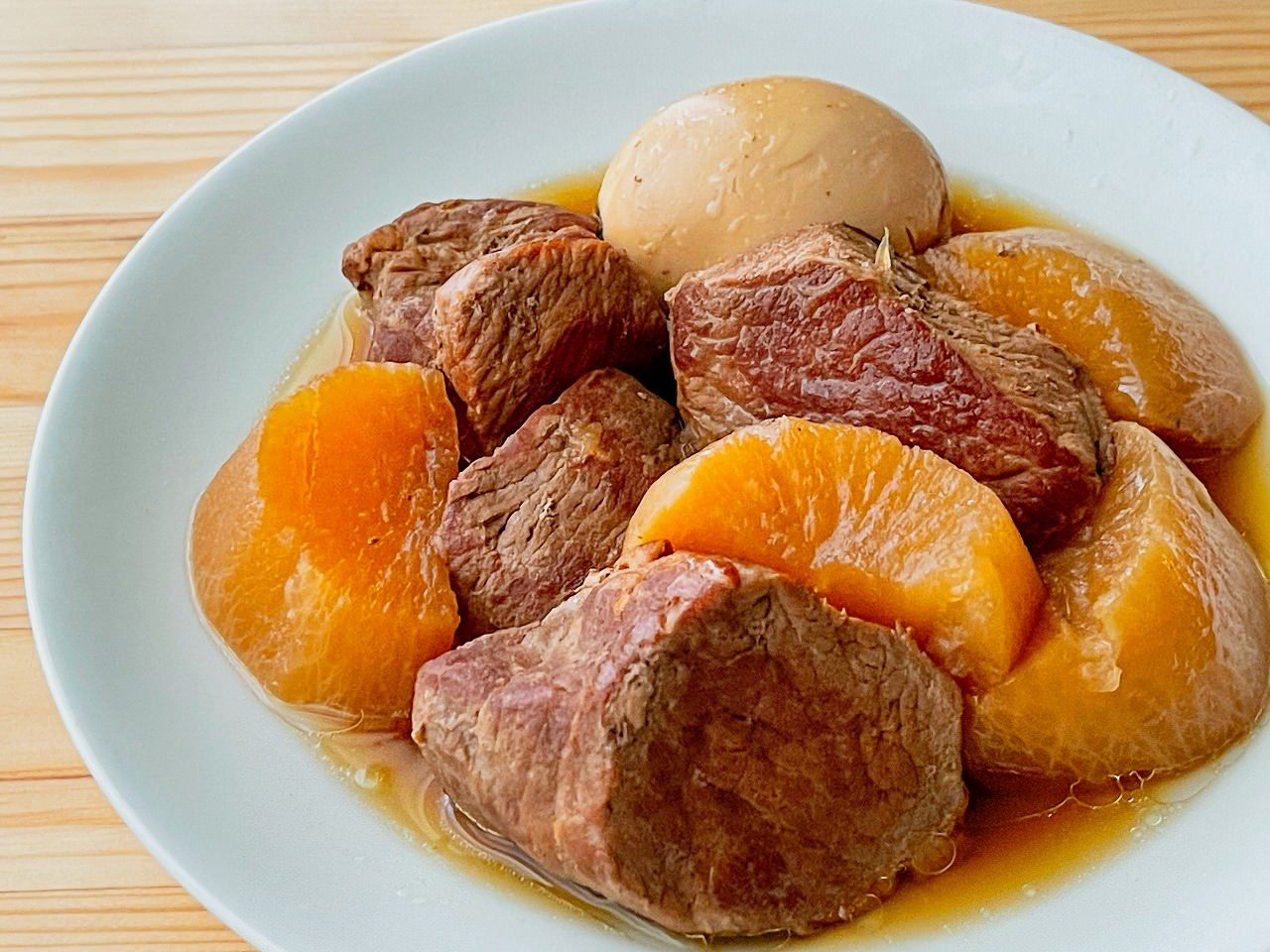 【改訂版】豚の角煮