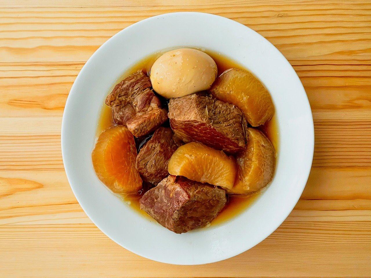 角 煮 レシピ