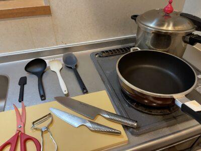 いつも使用している調理器具