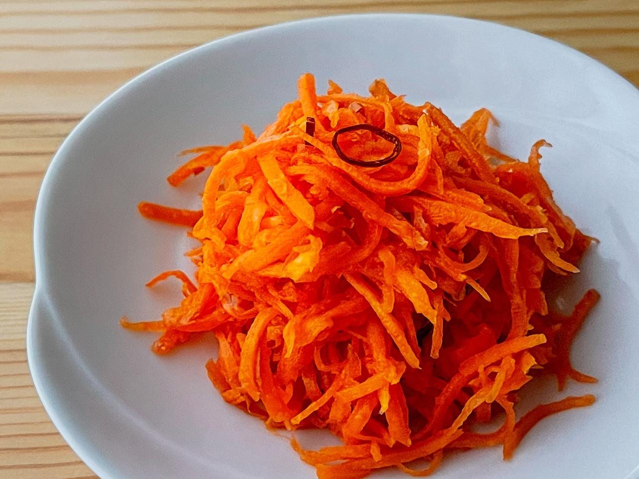 【野菜ひとつ】にんじんのエスニックサラダ