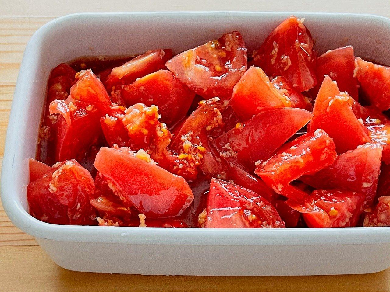 トマトの生姜漬け