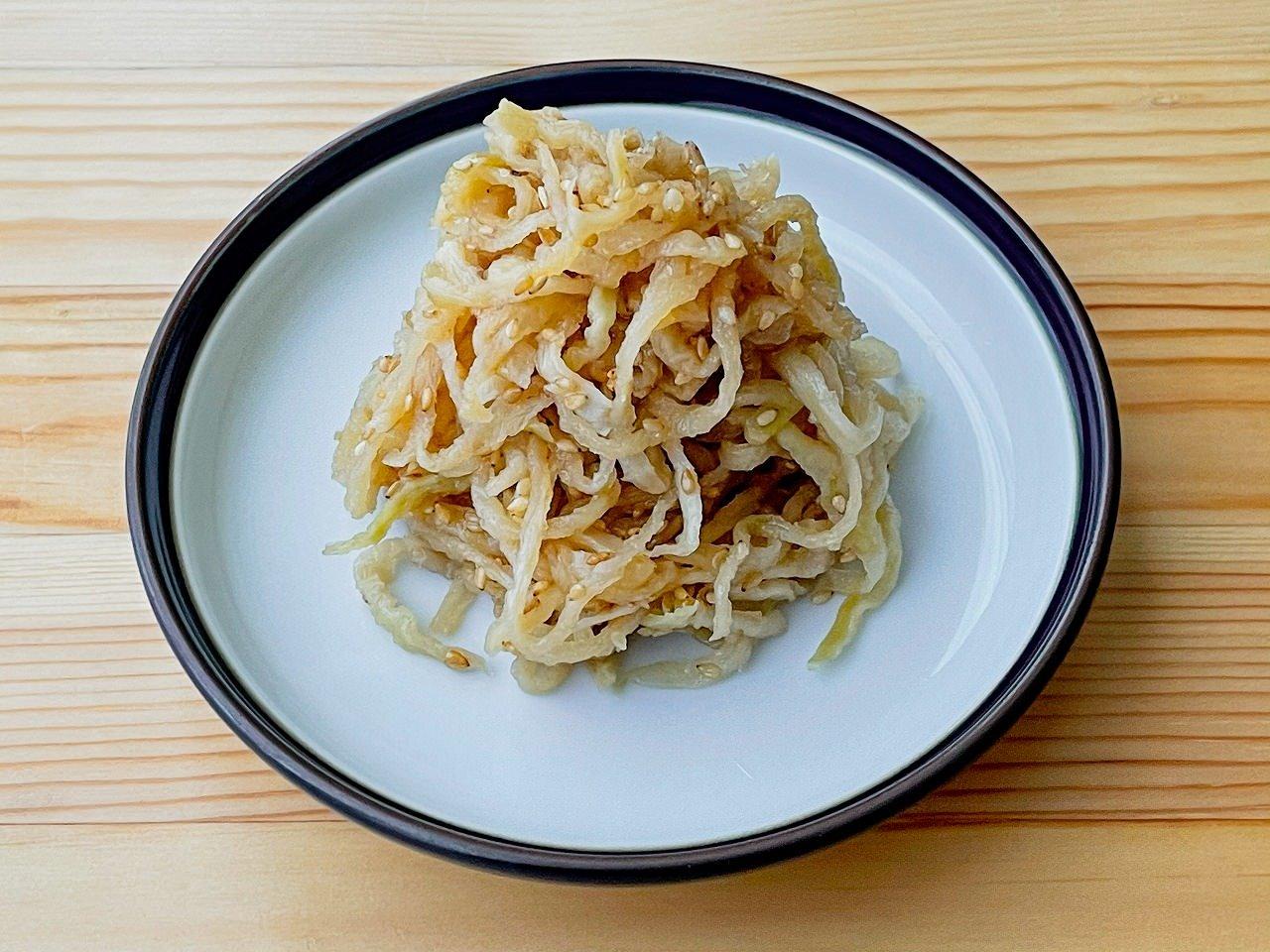 【野菜ひとつ】煮て作る 切干大根のナムル