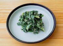 【野菜ひとつ】ニラのごまマヨ和え