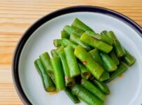 【野菜ひとつ】いんげんのピリ辛和え
