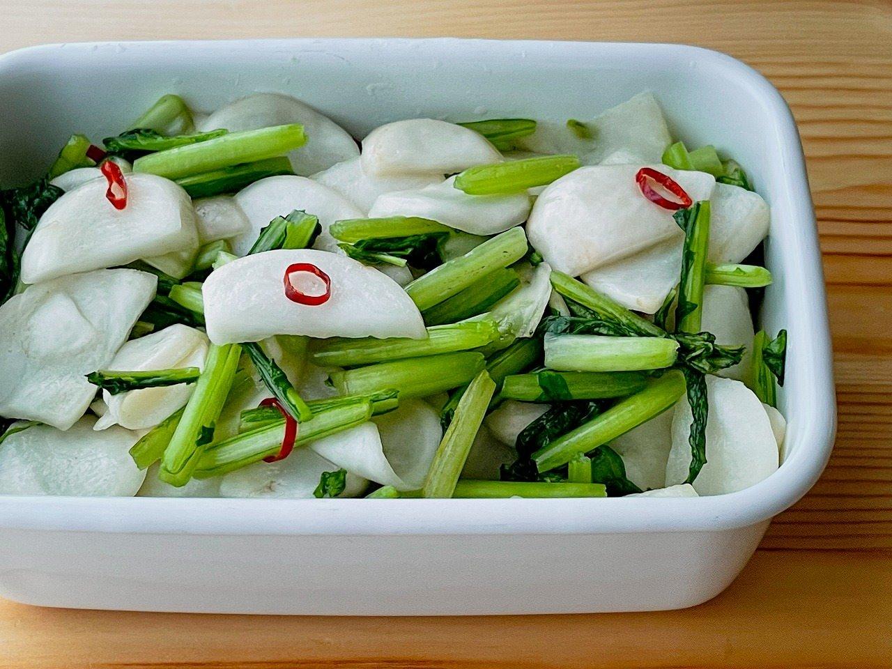 【野菜ひとつ】かぶの浅漬け