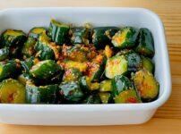 【野菜ひとつ】きゅうりのピリ辛オイスター漬け
