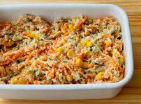 おからと野菜の味噌マヨサラダ