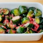 【野菜ひとつ】きゅうりの梅サラダ