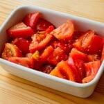 【野菜ひとつ】トマトの胡麻醤油漬け
