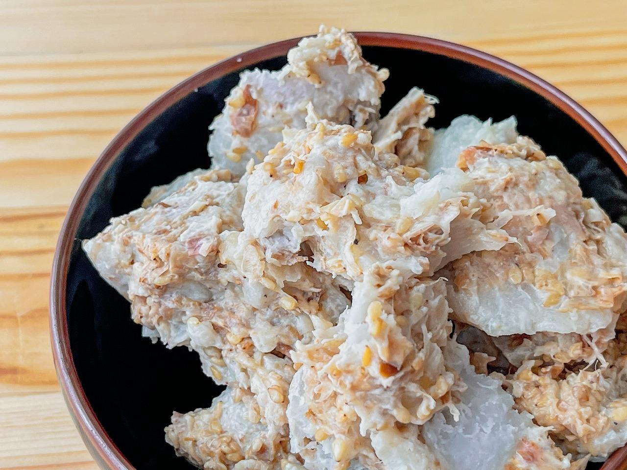 【野菜ひとつ】里芋のおかかサラダ
