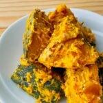 【野菜ひとつ】かぼちゃの粒マスタードサラダ