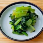 【野菜ひとつ】小松菜のオイスターソース和え