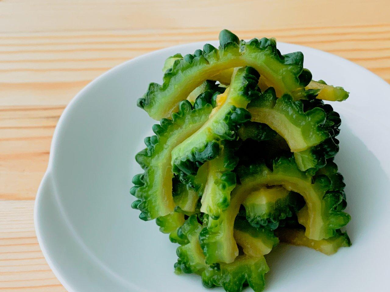 【野菜ひとつ】ゴーヤのレモン和え
