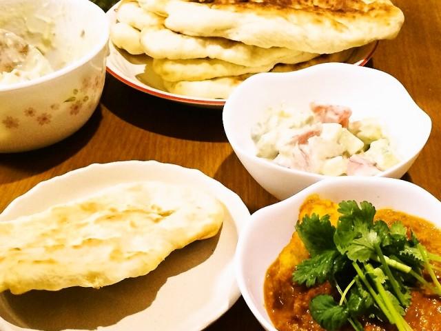 スパイスを使って体においしい!本格インド料理のチキンカレー