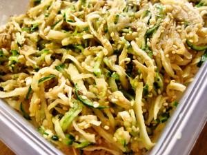 切干大根ときゅうりの中華サラダ