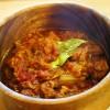 お肉とお野菜がほろほろとろける!キャベツたっぷりチキントマトシチュー
