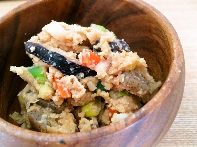 しっとりノンオイル おからの煮物(卯の花の炒り煮)