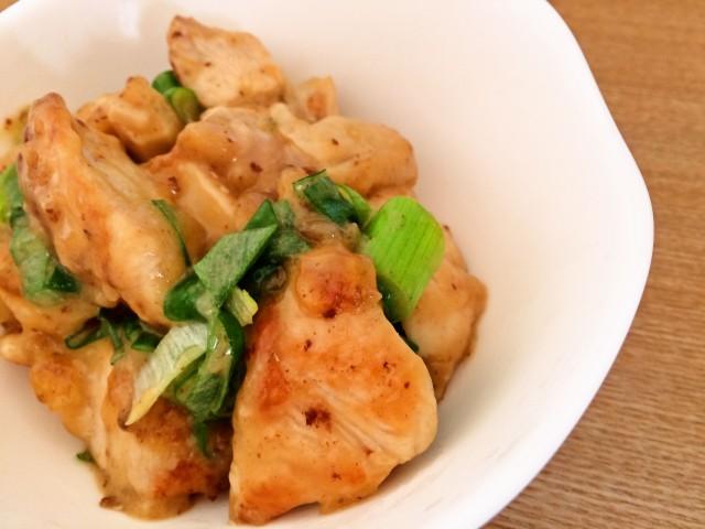 奇跡の味 鶏肉のマヨポン炒め