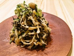 大豆と切干大根とひじきのサラダ
