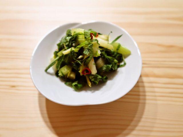 【野菜ひとつ】セロリ大量消費 セロリのナンプラー漬け