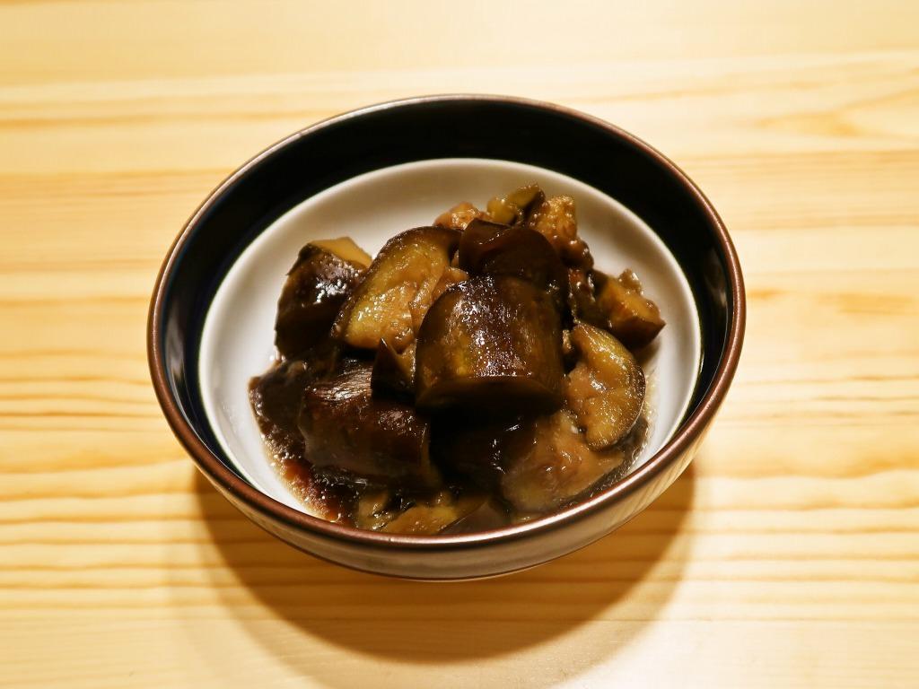 【野菜ひとつ】なすの煮物 ほんのり甘く懐かしい