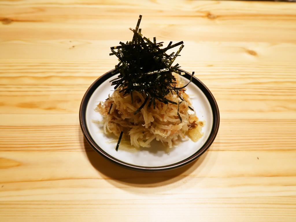 【野菜ひとつ】しりしり大根おかかサラダ