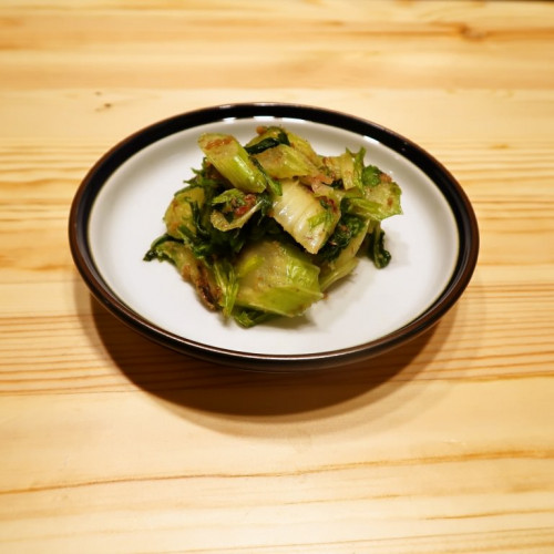 【野菜ひとつ】セロリ大量消費 梅おかかセロリ