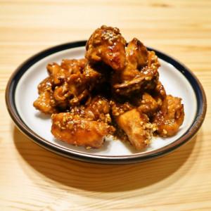 鶏むね肉のにんにく照り焼き