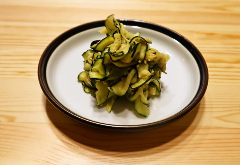 【野菜ひとつ】ズッキーニのわさびマヨ