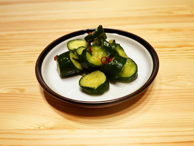【野菜ひとつ】きゅうりの甘酢漬け