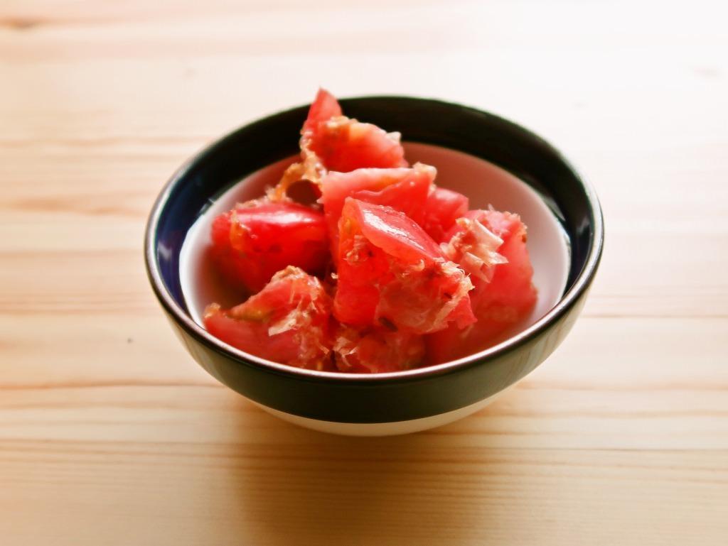【野菜ひとつ】トマトの土佐酢漬け