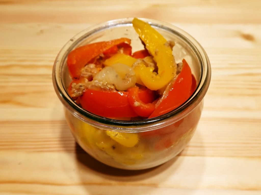 パプリカと玉ねぎのツナマリネ