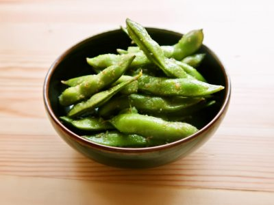 とまらない ガーリック枝豆