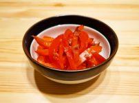 【野菜ひとつ】パプリカの梅おかか和え