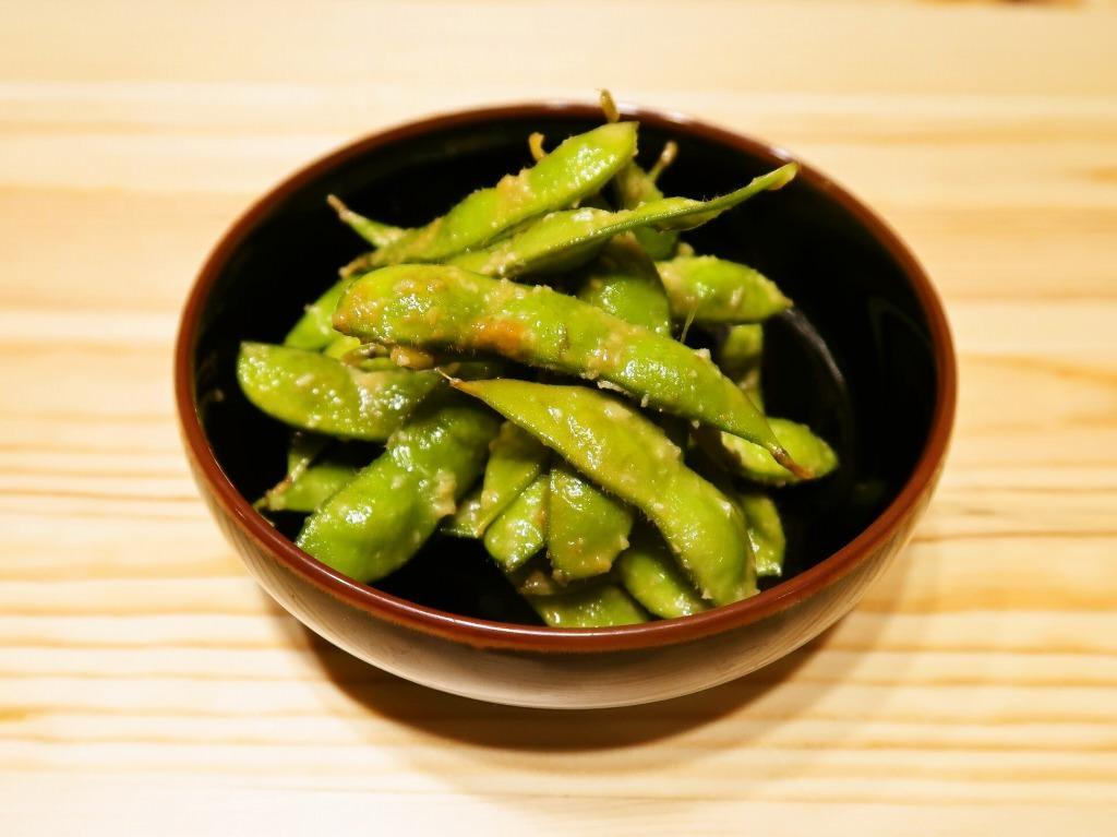 コクたっぷり ガリバタしょうゆ枝豆