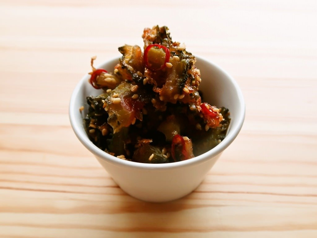 【野菜ひとつ】ゴーヤの佃煮 甘さひかえめ